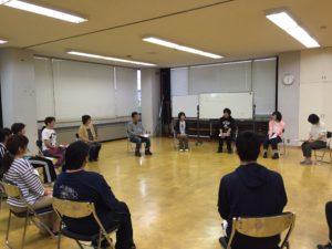 furico演劇ワークショップ第1回目